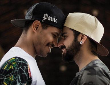 LGBTQ+ couple